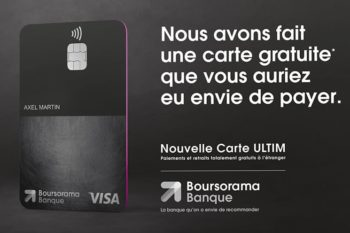Ultim de Boursorama, l'offre qui écrase les néobanques