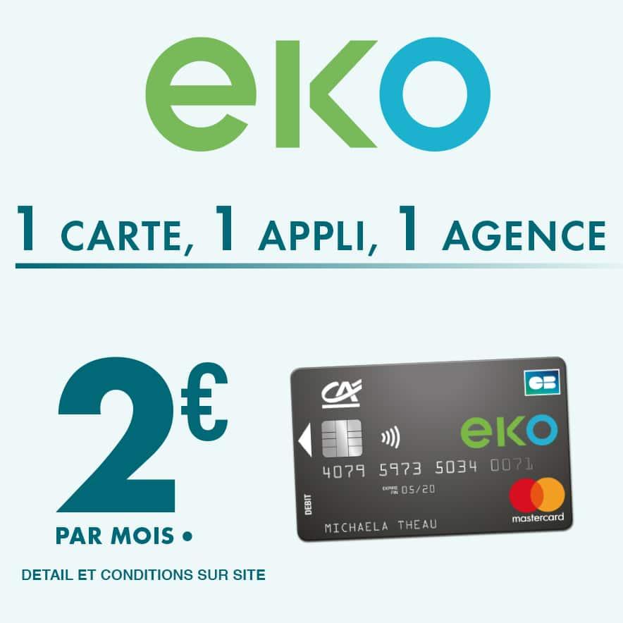 Eko Carte Agence Banque