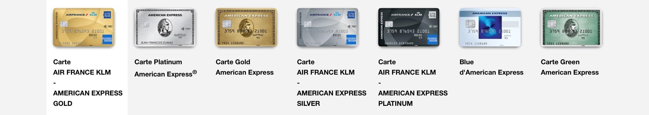 Cartes Amex