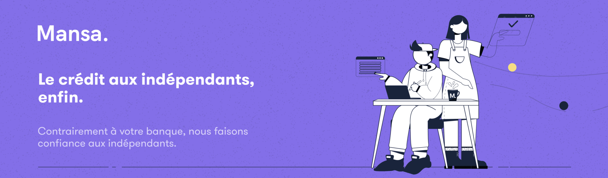 Mansa, la fintech qui facilite le crédit aux freelances