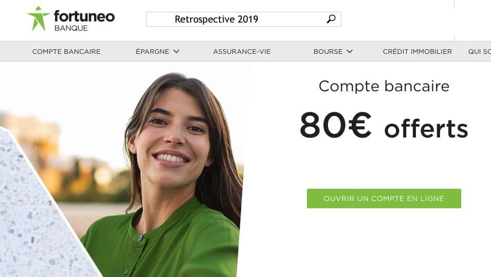 Rétrospective 2019 pour Fortuneo