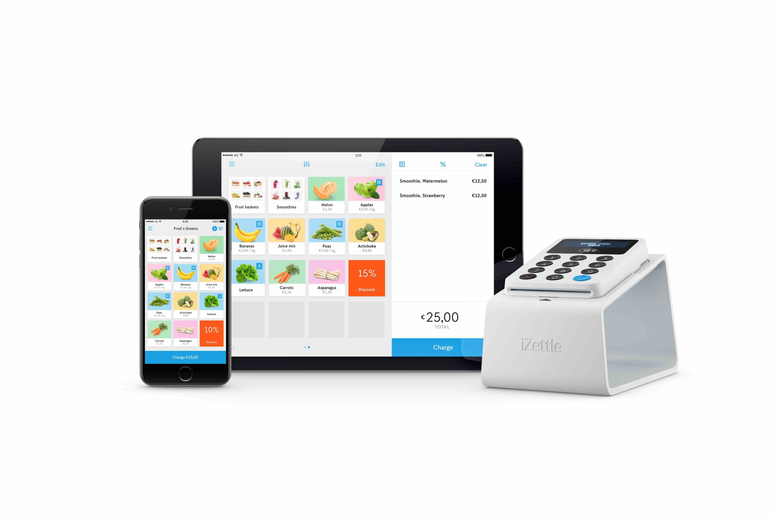 Izettle Supports