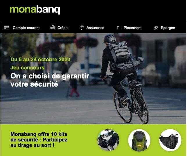 5 changements et un Jeu avec Monabanq avant le 24 octobre