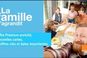 Orange Bank lancement du pack famille + de nouvelles CB