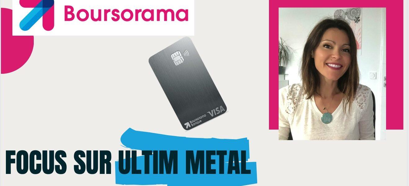 Boursorama lance Utilm Metal et transforme son offre globale