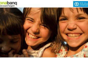 Monabanq récolte des fonds pour les enfants
