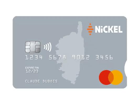 Nickel propose maintenant une carte nominative et personnalisée : My Nickel