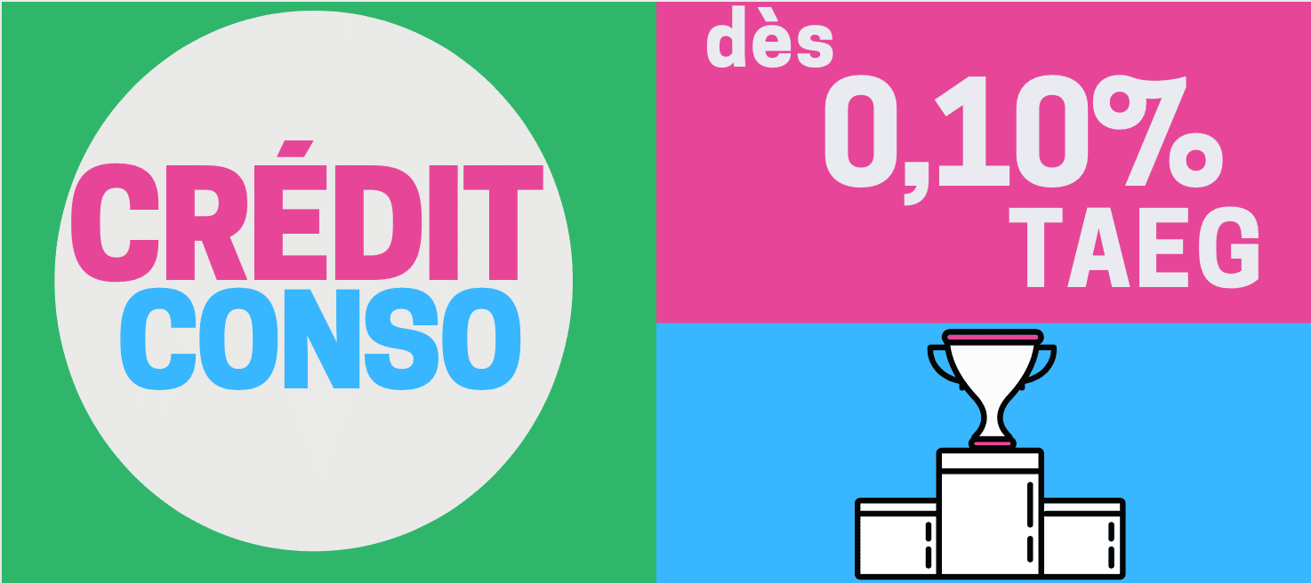 credit conso taux