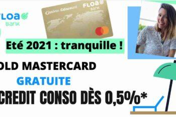 Floa Bank propose la Gold Mastercard gratuite pendant 1 an